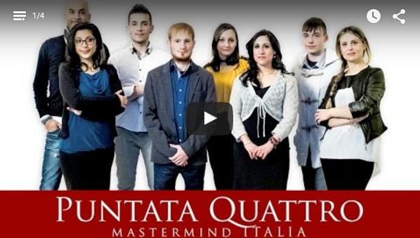 MASTERMIND ITALIA – PUNTATA N.4  La sfida continua