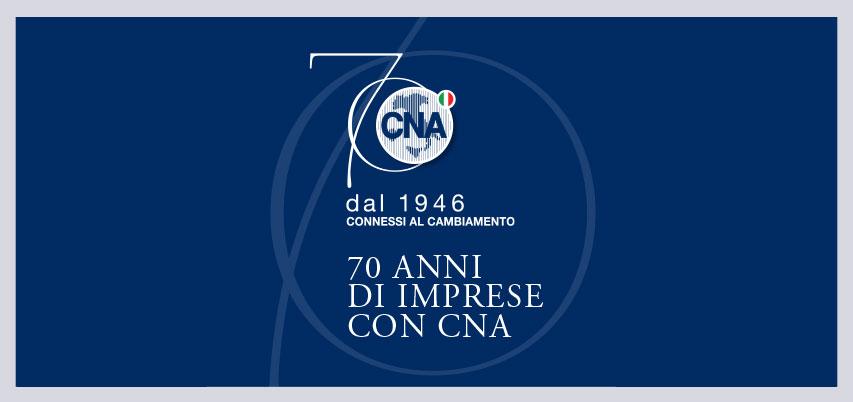 Al via le celebrazioni per i 70 anni di CNA  Intervengono il Presidente Emerito Giorgio Napolitano e il Ministro Maria Elena Boschi in diretta live su ideality Channel